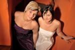 Am längsten unsere treuen Kundinnen und Modells Romy und Tina