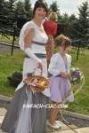 Besondere farbige Hochzeitsmode