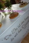 Büffetdeko Hochzeit zum Ausleihen
